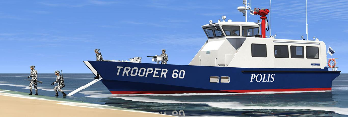 Auxiliary – Landing Craft TROOPER 60